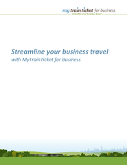 Streamline your business travel with MyTrainTicket for