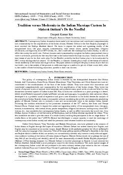 International Journal of Humanities and Social Science Invention ...