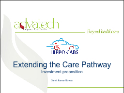 Extending the Care Pathway