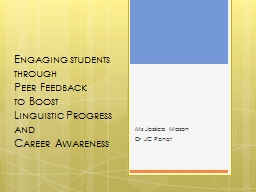 Engaging students through