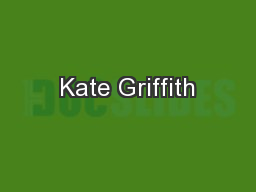 Kate Griffith