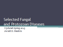 Selected Fungal
