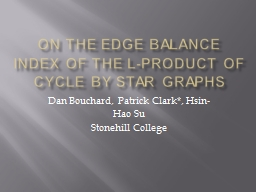 On the Edge Balance Index of the L-Product of Cycle by Star