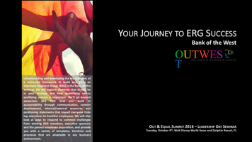 Your Journey to ERG Success PowerPoint PPT Presentation
