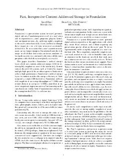 Proceedings of the  USENIX Annual Technical Conference