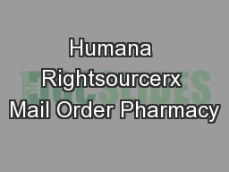 Rightsourcerx Mail Order Form - Image Mag