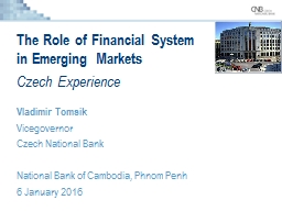 The Role of Financial
