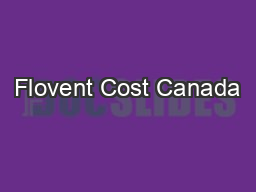 Flovent Cost Canada
