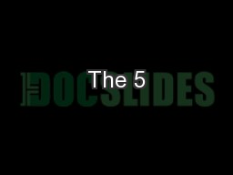 The 5