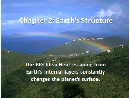 Chapter 2: Earth's Structure