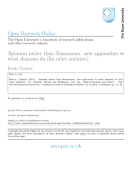 Open Research Online The Open Universitys repository o