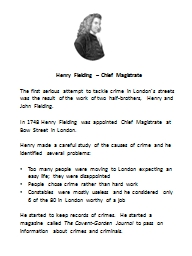 Henry Fielding – Chief Magistrate PowerPoint PPT Presentation