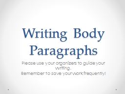 writing body paragraphs This is the paragraph writing worksheets section paragraph writing is the foundation for all essay writing.