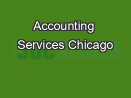 Accounting Services Chicago