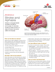 Recovery continued lets talk about Stroke and Aphasia
