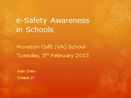 e -Safety Awareness PowerPoint PPT Presentation