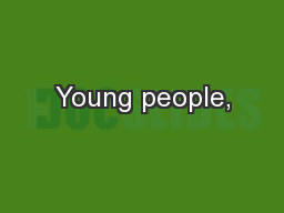 Young people,