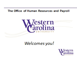 Welcomes you! PowerPoint PPT Presentation