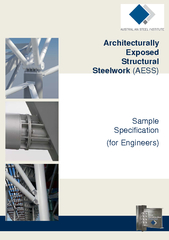 Architecturally Exposed Structural Steelwork AESS Samp
