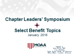 Chapter Leaders' Symposium