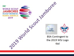 BSA Contingent to the 2019 WSJ Logo