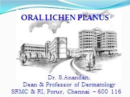 ORAL LICHEN PLANUS PowerPoint PPT Presentation