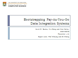 Bootstrapping Pay-As-You-Go