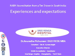 NABH Accreditation from a Tier 3 town in South India: