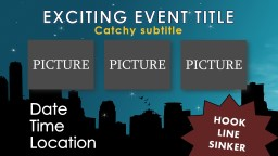 An Exciting Event Title PowerPoint PPT Presentation