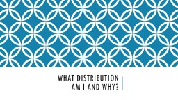 What distribution
