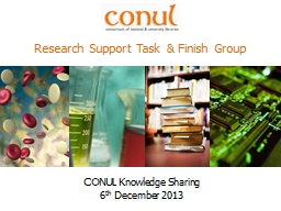 CONUL Knowledge Sharing