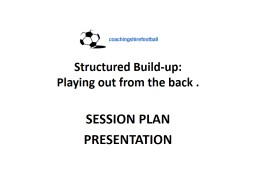 Structured Build-up: