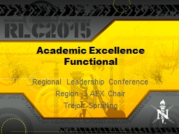 Academic Excellence Functional