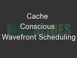 Cache Conscious Wavefront Scheduling
