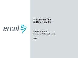 ERCOT External Web Services and Notifications