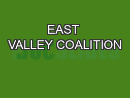 EAST VALLEY COALITION