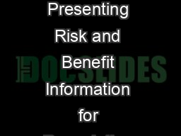 Guidance for Industry InternetSocial Media latforms with Character Space Limitations  Presenting Risk and Benefit Information for Prescription Drug s and Medical Device s DRAFT GUIDANCE This guidance  PowerPoint PPT Presentation