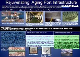 Rejuvenating Aging Port Infrastructure
