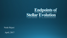 Endpoints of
