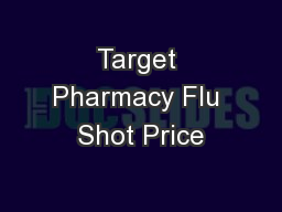 Target rx prices