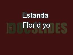 Estanda Florid yo