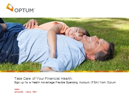 Take Care of Your Financial Health: