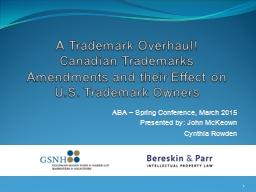 A Trademark Overhaul!