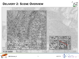 Delivery 2: Scene Overview PowerPoint PPT Presentation