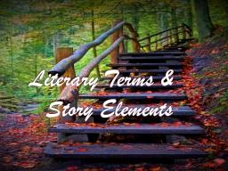 Literary Terms &