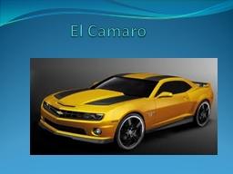 El  Camaro