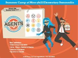 Summer Camp at