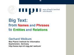 Big Text: