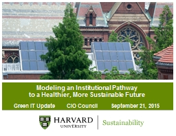 Modeling an Institutional Pathway