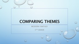 Comparing Themes